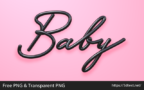 Baby 3D Word