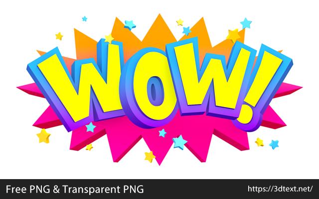 Wowの無料3D立体文字